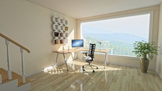 Keys to ensure efficiency and wellness in a home office